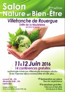 Affiche Villefranche de Rouergue 2016