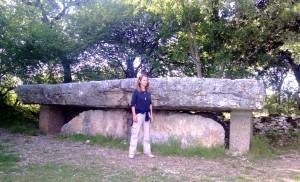 Dolmen pierre Martine Livernon