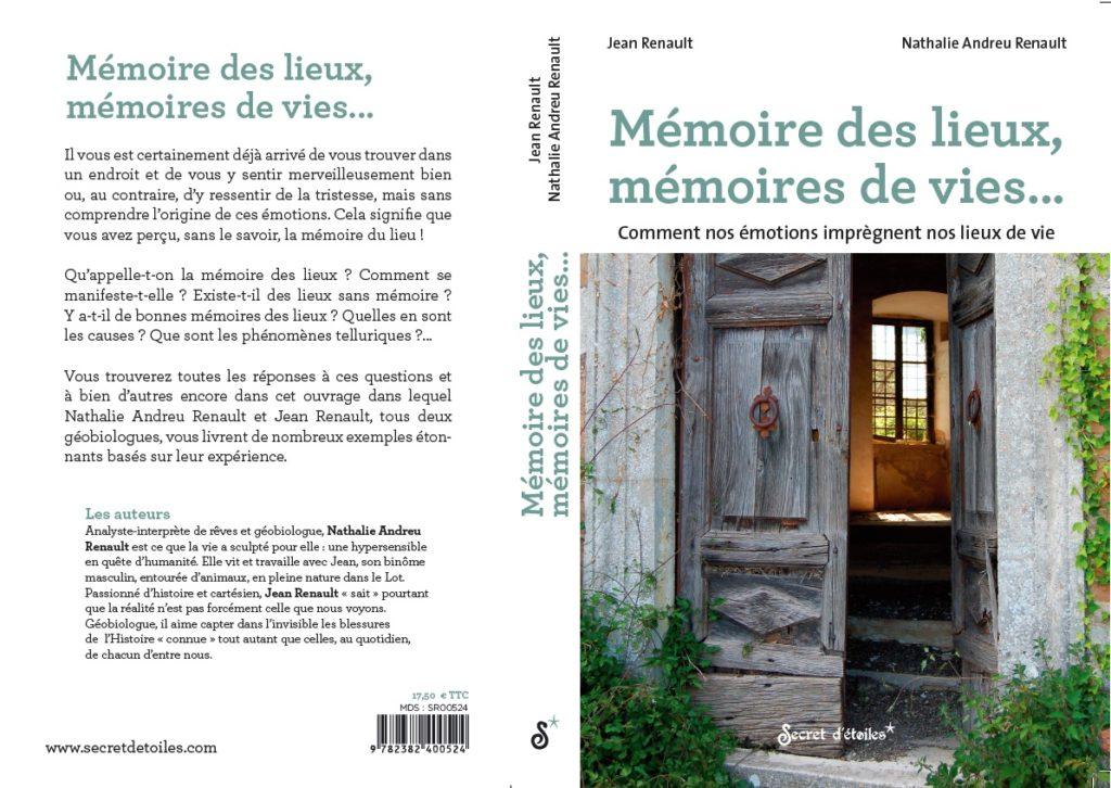 Livre Nathalie et Jean Renault Mémoire des lieux mémoires de vie